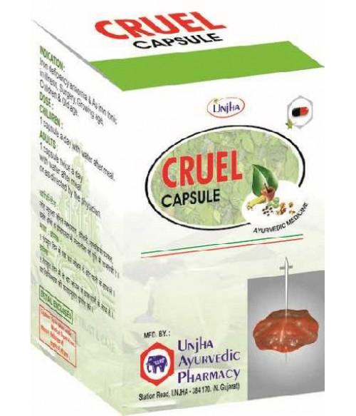 КРУЭЛЬ CRUEL 30 caps Обеспечивает энергией и жизнеспособностью