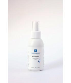Антибактериальный спрей ЗАЩИТИТ, 100мл Дарит приятное чувство свежести и легкости