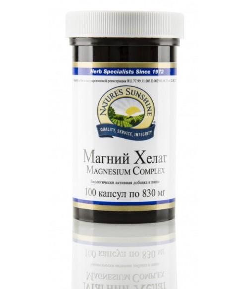 Магний Хелат NSP (НСП) Mg рекомендован в случае недостатка магния в организме