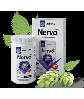 Фитокомплекс NERVO MIX 60tabs Укрепляет память, снижает нервное напряжение.