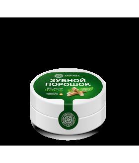 Зубной порошок 70gr Отбеливающий с эфирным маслом мяты