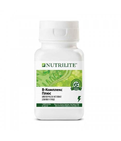 В-комплекс плюс NUTRILITE Витамины группы В 60tabs