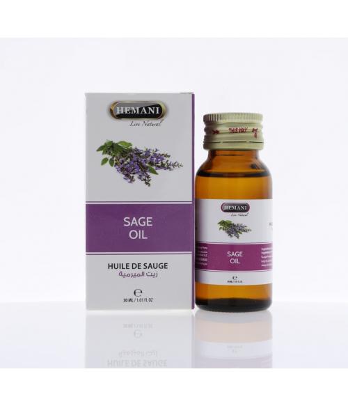 Масло Шалфея Хемани / Sage Oil Hemani 30 мл