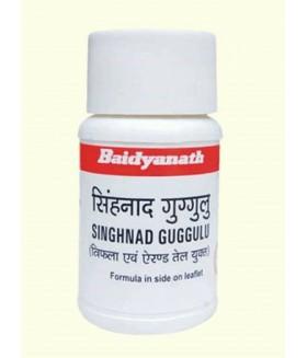 СИНХНАДИ ГУГУЛ  / Singhnad guggulu 30 gm / 80 tabs При расстройстве желудка